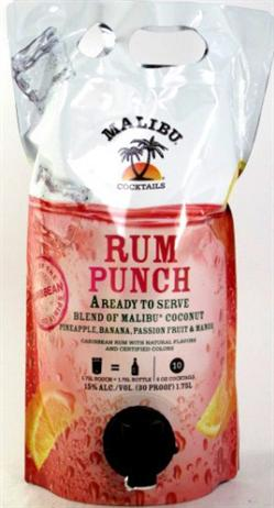 Malibu Cocktails Rum Punch